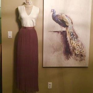 Olive Olivia Maxi Skirt